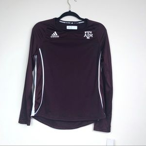 Adidas Texas A&M long sleeve top